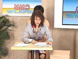 Maria Ozawa CMM reporter bukkake