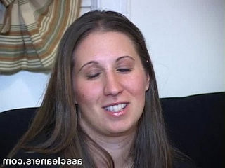 Mistress with fat ass sits on her poor slaves face