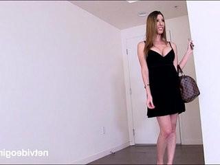 Dana is a little shaken by rough sex fun