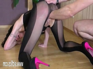Brutally fisting her greedy pussy till she squirts