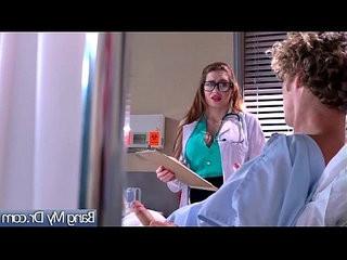 Sex Adventures Between Doctor And Beauty Sluty Patient Veronica Vain video 30