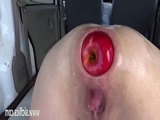 Extreme fisting and xxl apple insertions