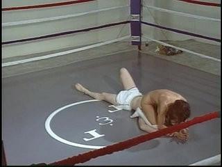 Blake Mitchell wrestles man