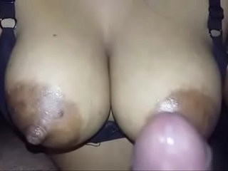 Indian sexy woman toying pussy with real big boobs and nipples fucking neighbor.