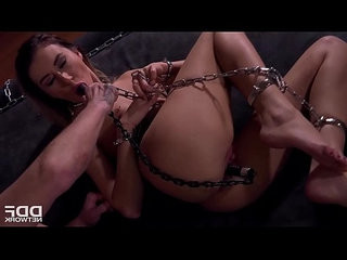 Rough sex lover katrin tequila chained dominated and ass fucked